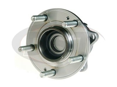 Rear Wheel Bearing and Hub Assembly - Front Wheel Drive