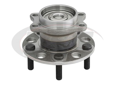 Rear Wheel Bearing and Hub Assembly - Front Wheel Drive - Non Anti Lock Brakes
