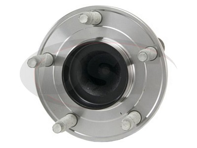 Rear Wheel Bearing and Hub Assembly - FWD models