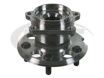 Rear Wheel Bearing and Hub Assembly - AWD models