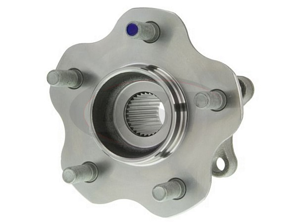 Rear Wheel Bearing and Hub Assembly - All Wheel Drive