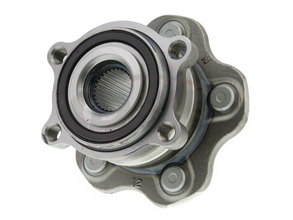 MOOG-512408 Rear Wheel Bearing and Hub Assembly - All Wheel Drive