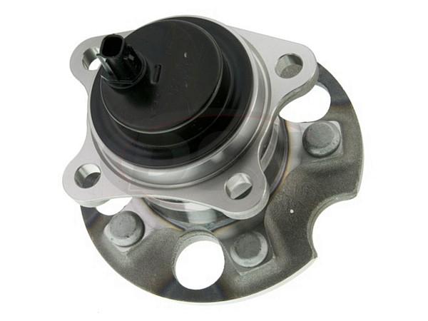 moog-512420 Rear Wheel Bearing and Hub Assembly - Front Wheel Drive - Passenger Side