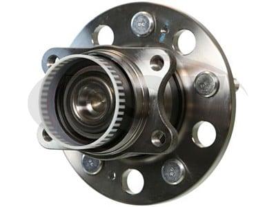 Moog Rear Wheel Bearing and Hub Assemblies for Azera, Sonata, Tucson, Cadenza, Optima, Rondo, Sportage