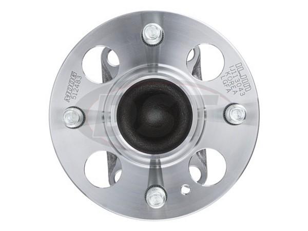 moog-512483 Rear Wheel Bearing and Hub Assembly