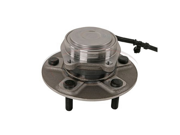 moog-512493 Rear Wheel Bearing and Hub Assembly