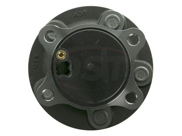 moog-512497 Rear Wheel Bearing and Hub Assembly - Front Wheel Drive