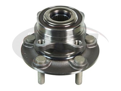 Moog Front Wheel Bearing and Hub Assemblies for Fusion, MKZ