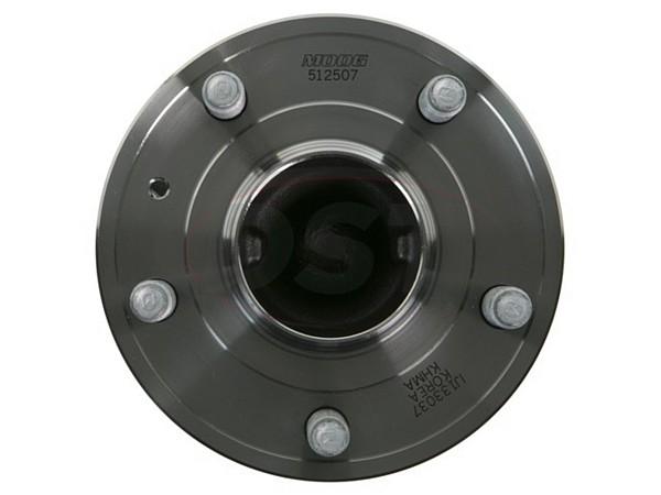 moog-512507 Rear Wheel Bearings and Hub Assembly - 15 Inch Wheels