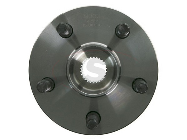 moog-512512 Rear Wheel Bearing and Hub Assembly - All Wheel Drive
