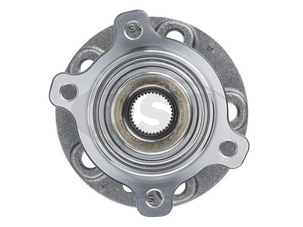 moog-512524 Rear Wheel Bearing and Hub Assembly - All Wheel Drive