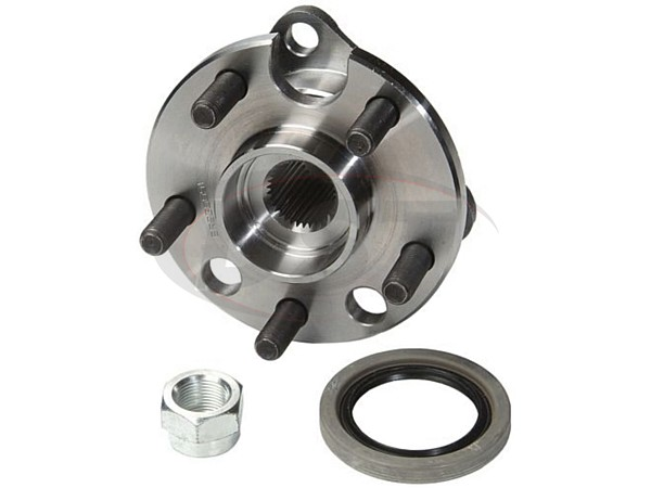 MOOG-513011-K_rear Rear Wheel Bearings and Hub Assembly