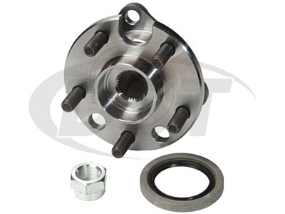 Front Wheel Bearings and Hub Assembly