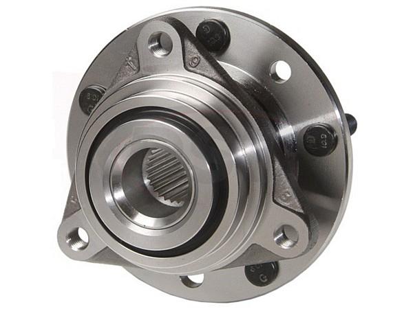 MOOG-513013 Front Wheel Bearing and Hub Assembly