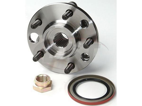Front Wheel Bearing and Hub Assembly