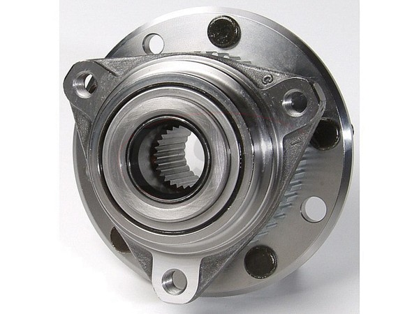 moog-513061 Front Wheel Bearing and Hub Assembly - 4WD