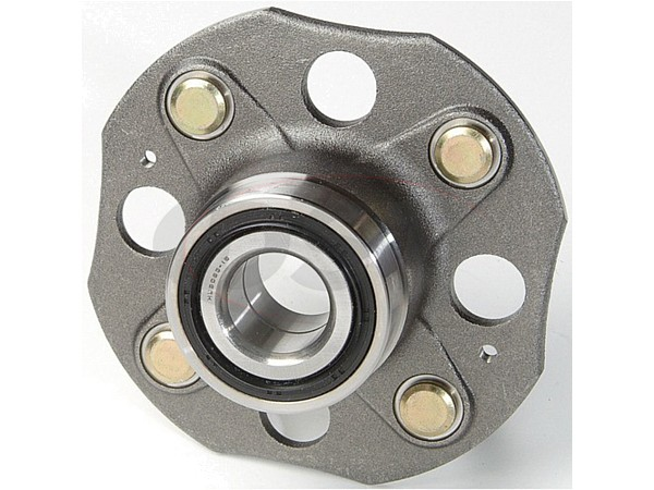 moog-513080 Rear Wheel Bearing and Hub Assembly - Rear Drum Brakes - Sedan