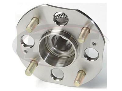 Rear Wheel Bearing and Hub Assembly - 4 Wheel ABS - Rear Disk Brakes - Sedan