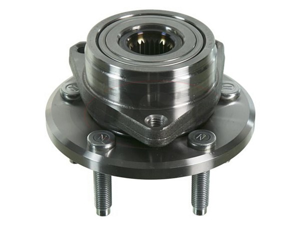 MOOG-513100 Front Wheel Bearing and Hub Assembly