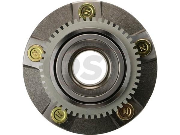 MOOG-513115 Front Wheel Bearing and Hub Assembly