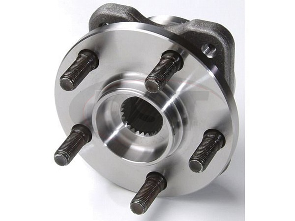 MOOG-513122 Front Wheel Bearing and Hub Assembly - 14 Inch Wheels