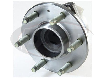 Rear Wheel Bearing and Hub Assembly - 3 Hole Triangular Flange