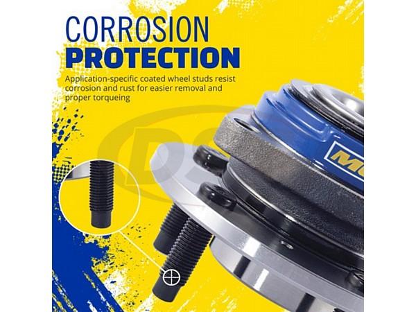 MOOG-513198 Front Wheel Bearing and Hub Assembly