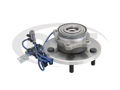 Moog Front Wheel Bearing and Hub Assemblies for Pacifica