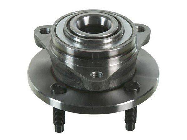 Front Wheel Bearing and Hub Assembly 4-Stud Hub