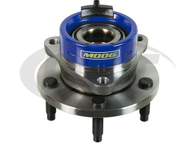 Moog Front Wheel Bearing and Hub Assemblies for Cobalt, HHR, G5, Pursuit, Ion