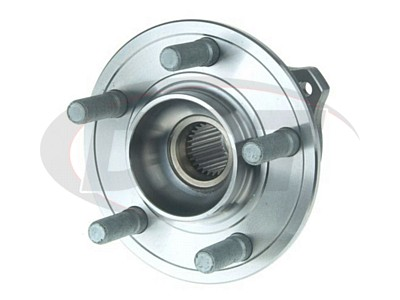 Front Wheel Bearing and Hub Assembly - All Wheel Drive