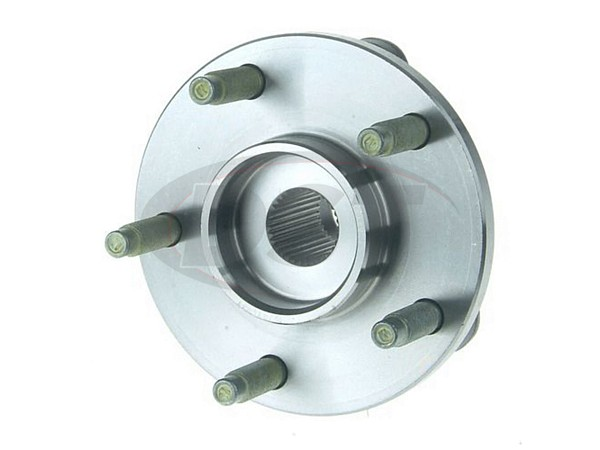moog-513237 Front Wheel Bearing and Hub Assembly - Non Anti Lock Brakes