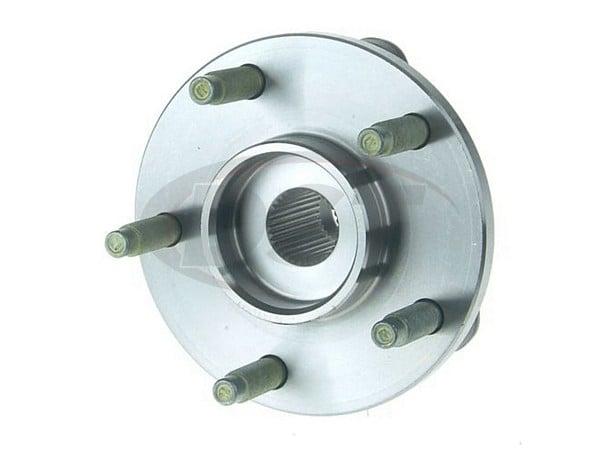 Front Wheel Bearing and Hub Assembly - Non Anti Lock Brakes