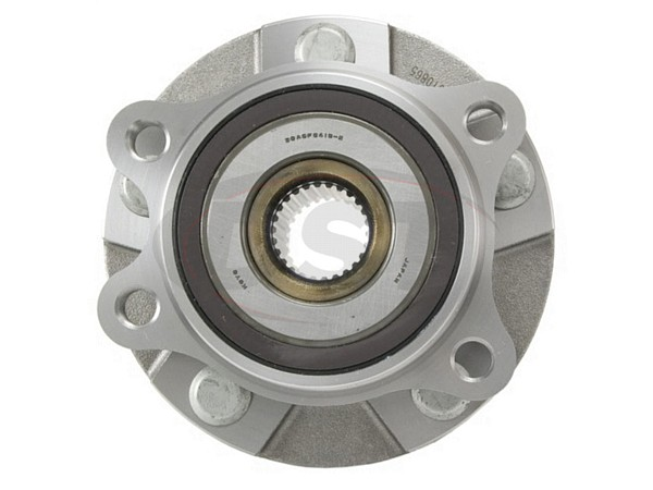 MOOG-513257 Front Wheel Bearing and Hub Assembly