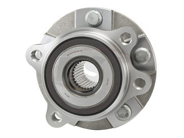 MOOG-513258 Front Wheel Bearing and Hub Assembly