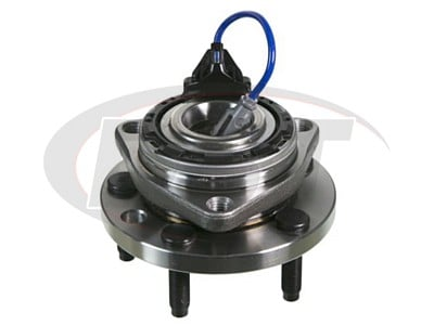 Moog Front Wheel Bearing and Hub Assemblies for Solstice, Sky