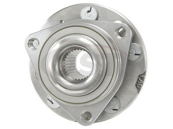MOOG-513260 Front and Rear Wheel Bearing and Hub Assembly