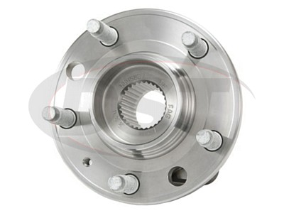 Front and Rear Wheel Bearing and Hub Assembly