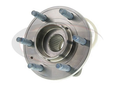 Moog Front Wheel Bearing and Hub Assemblies for STS