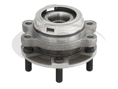 Front Wheel Bearing and Hub Assembly - Passenger Side