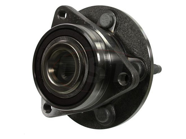 Front Wheel Bearing and Hub Assembly - 15 Inch Wheels