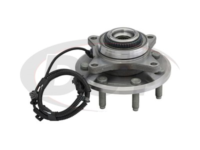 Front Wheel Bearing and Hub Assembly - Rear Wheel Drive