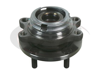 Front Wheel Bearing and Hub Assembly - AWD