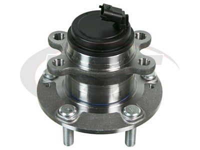 Moog Front Wheel Bearing and Hub Assemblies for Genesis Coupe