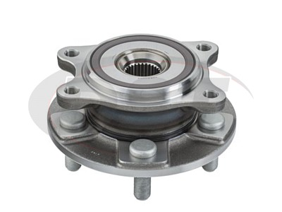 Moog Front Wheel Bearing and Hub Assemblies for LS460, LS600h