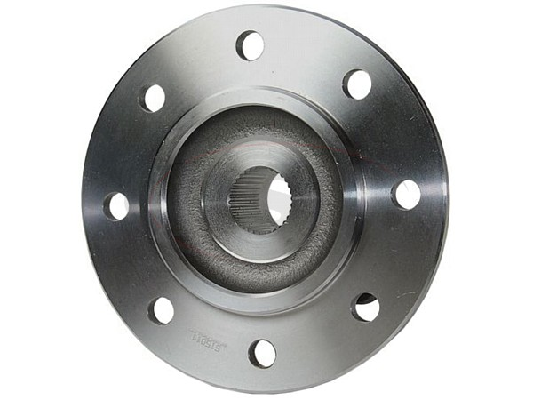 Front Wheel Bearing and Hub Assembly - 2 Wheel ABS - 3 Hole Triangle Flange