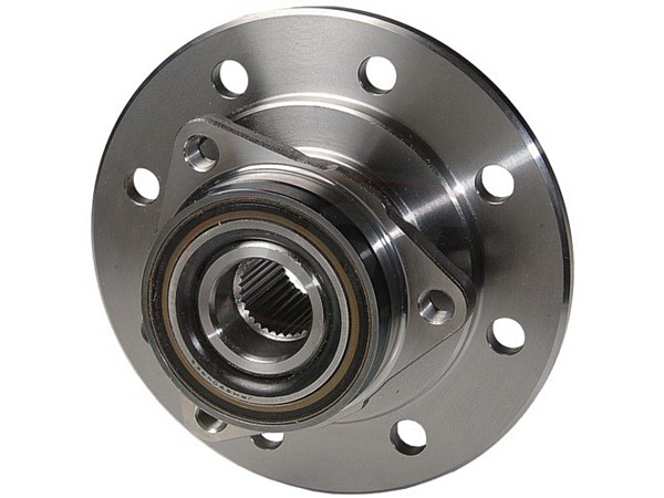 moog-515011 Front Wheel Bearing and Hub Assembly - 2 Wheel ABS - 3 Hole Triangle Flange