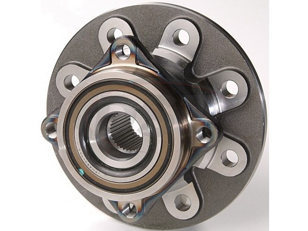 MOOG-515012 Front Wheel Bearing and Hub Assembly - 2 Wheel ABS - 4 Hole Rectangular Flange