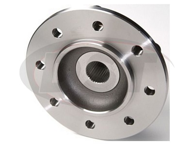 Front Wheel Bearing and Hub Assembly - 2 Wheel ABS - 4 Hole Rectangular Flange