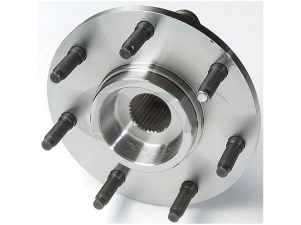 Front Wheel Bearing and Hub Assembly - 2 Wheel ABS - 7 Stud Hub